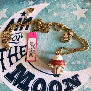 Betsey Johnson Jewelry - NWT✨ Betsey Johnson Cupcake Rare Locket Necklace
